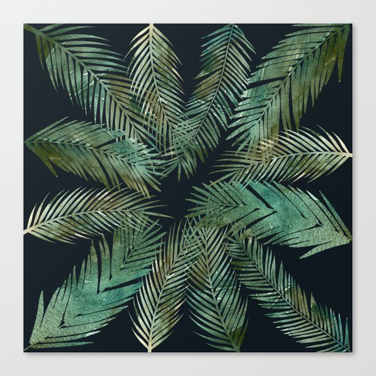 Tropica Central as night Canvas Print