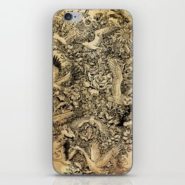 Blooming Flight iPhone Skin