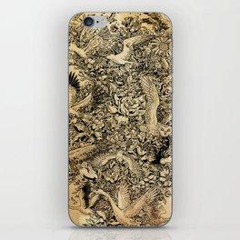 Blooming Flight iPhone Skin