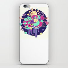 Happydoodle iPhone & iPod Skin