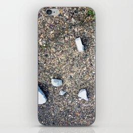 Cement Detritus iPhone Skin
