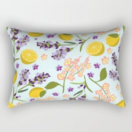 lemon lavender essentials Rectangular Pillow