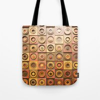 reassurance Tote Bags featuring wood work by Magdalena Hristova