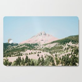 Happy Mountain #society6 #decor #buyart Cutting Board