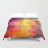tie dye Duvet Covers featuring Tie Dye by Sarah Maybin