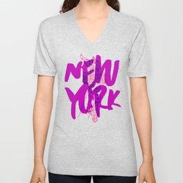 Place: New York Unisex V-Neck