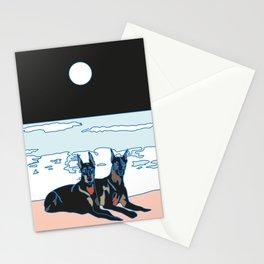 Perros mojados Stationery Cards