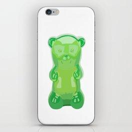 gummy bears green grape flavor iPhone Skin