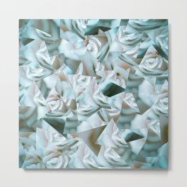 Abstract roses Metal Print