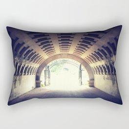 Tunnel's end Rectangular Pillow