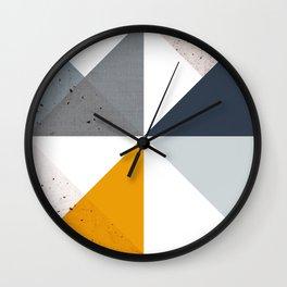 Modern Geometric 18/2 Wall Clock