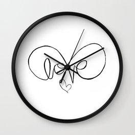 Eternalove Wall Clock