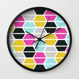 Tile Me Up #2 Wall Clock
