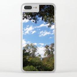 Rock Island Skies Clear iPhone Case