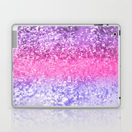 Unicorn Girls Glitter #6 #shiny #decor #art #society6 Laptop & iPad Skin