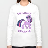 mlp Long Sleeve T-shirts featuring MLP FiM: Twilight Sparkle by Yiji