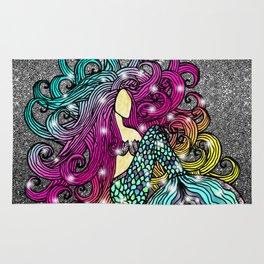 Rainbow Mermaid Rug