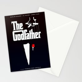 The Godfather, 1972 (Minimalist Movie Poster) Stationery Cards