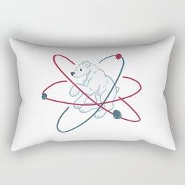 Polar (Bear) molecule Rectangular Pillow