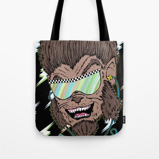 Hungry Like the Werewolf Tote Bag