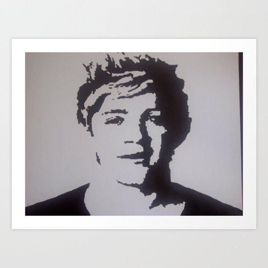 One Direction- Niall Horan Art Print