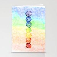 om Stationery Cards featuring OM by Sara Eshak