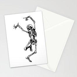 Dancing Skeleton | Day of the Dead | Dia de los Muertos | Skulls and Skeletons | Stationery Cards