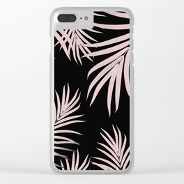 Palm Leaves Pattern Summer Vibes #5 #tropical #decor #art #society6 Clear iPhone Case