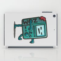 bmo iPad Cases featuring ZOM-BMO by Krisren28