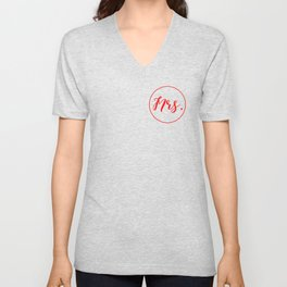 The mrs. Unisex V-Neck