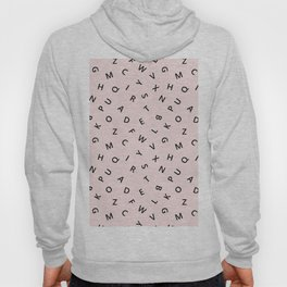 The Missing Letter Alphabet Hoody