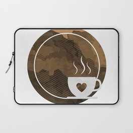 Coffee brings the passion - I love Coffee Laptop Sleeve