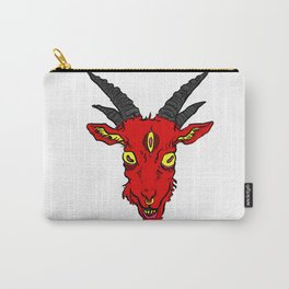 Red Devil Goat Carry-All Pouch