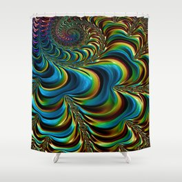 Jewelled Shower Curtain