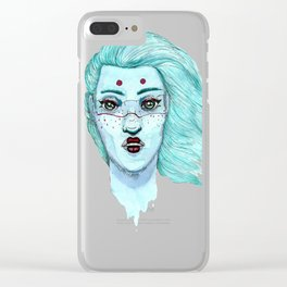 Her eyes Clear iPhone Case