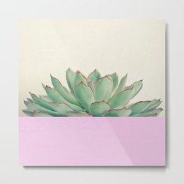 Succulent Dip Metal Print