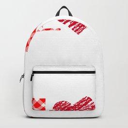 Valentinstag, love Valentine liebe Backpack