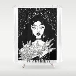 The Empress Tarot Card Shower Curtain