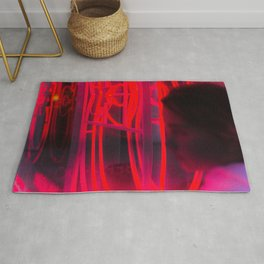Neons rouges Rug