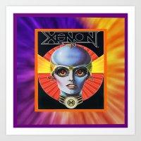 XEXON framed Art Print