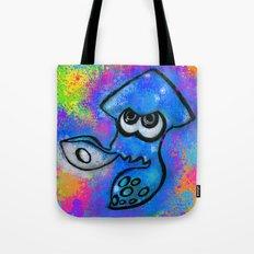 I've Got an Inkling - Blue on Blue Tote Bag