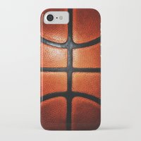 lakers iPhone & iPod Cases featuring Basketball by alifart