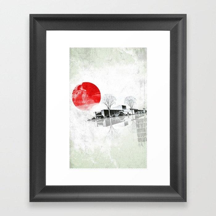 Waking to Winter Framed Art Print