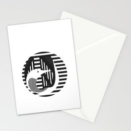 diver Stationery Cards