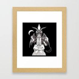 Meowphopet Framed Art Print