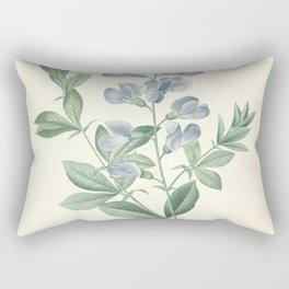 podalyria australis Redoute Roses 4 Rectangular Pillow