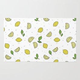 Lemonade - Lemon Pattern Rug