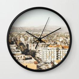 Hollywood California Wall Clock