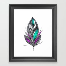 Harvest Feather 2 Framed Art Print