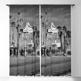 Royal Hawaiian Motel Blackout Curtain